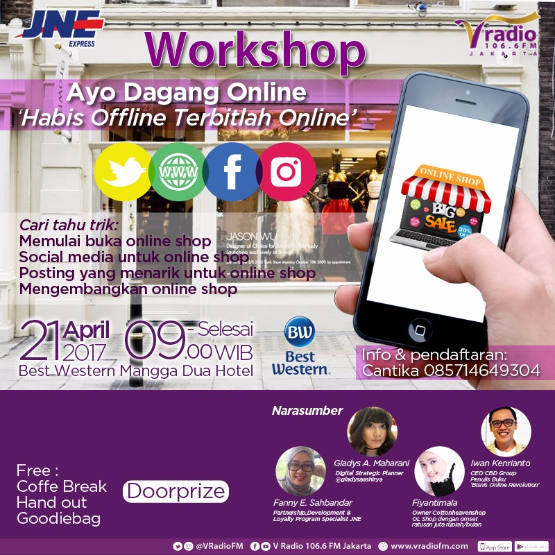 WORKSHOP AYO DAGANG ONLINE